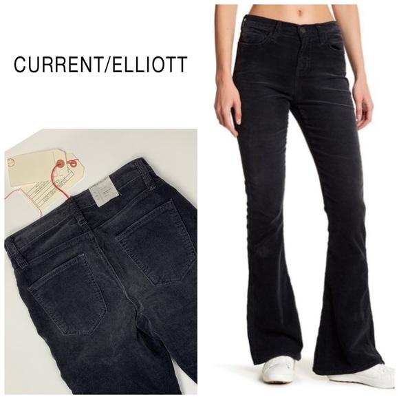 Current/Elliott Denim - Current/Elliot High Rise Low Bell Corduroy👖
